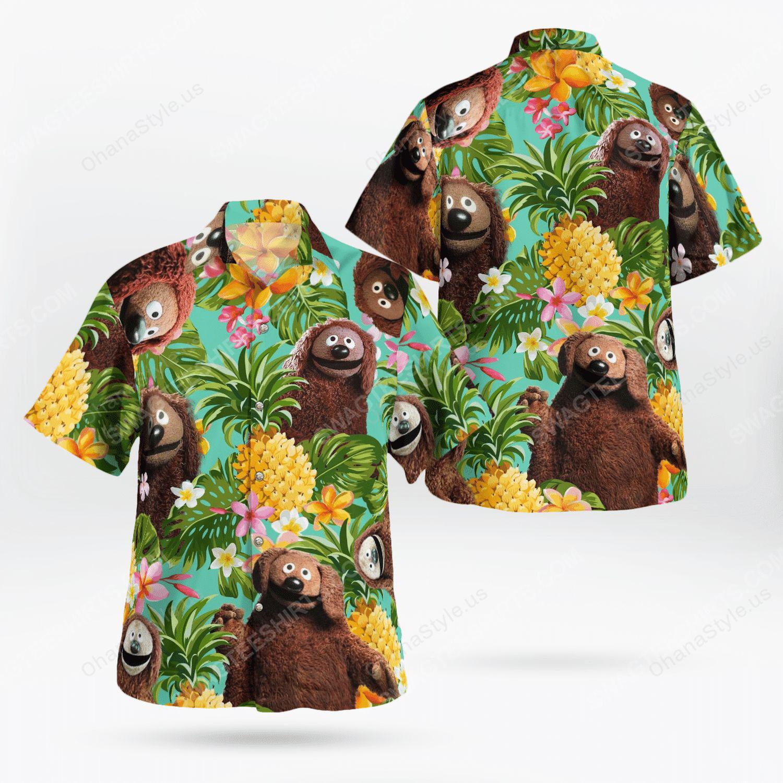 The muppet show rowlf the dog hawaiian shirt