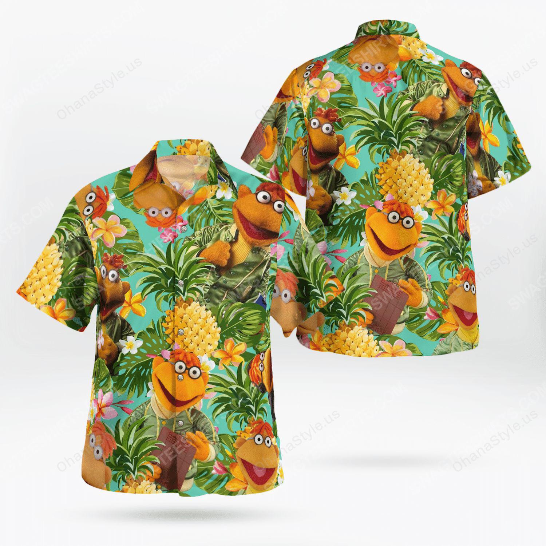 The muppet show scooter hawaiian shirt