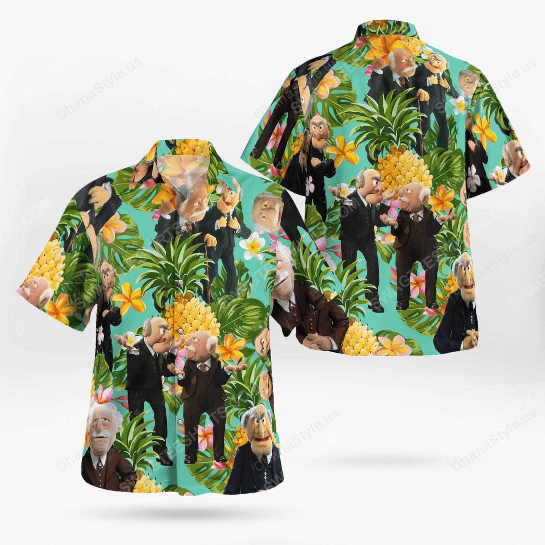The muppet show statler and waldorf hawaiian shirt