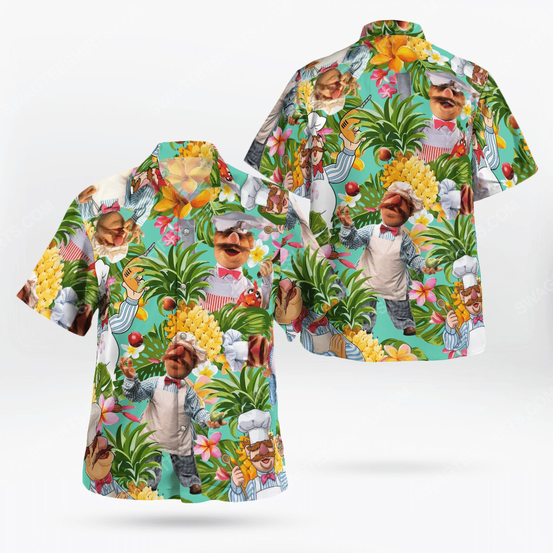 The muppet show swedish chef hawaiian shirt