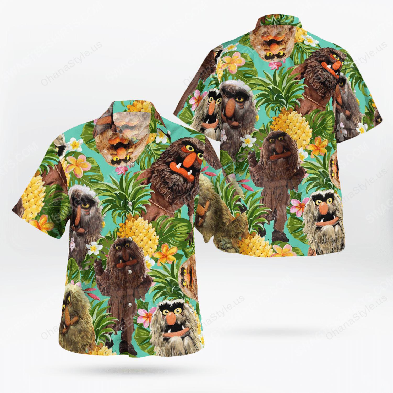 The muppet show sweetums hawaiian shirt