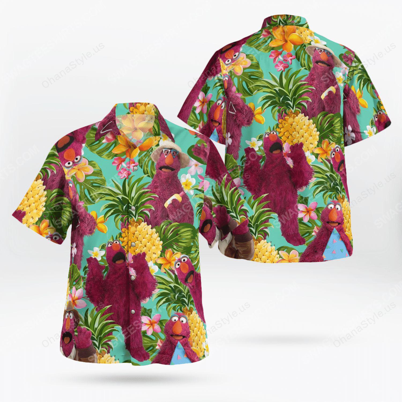The muppet show telly monster hawaiian shirt