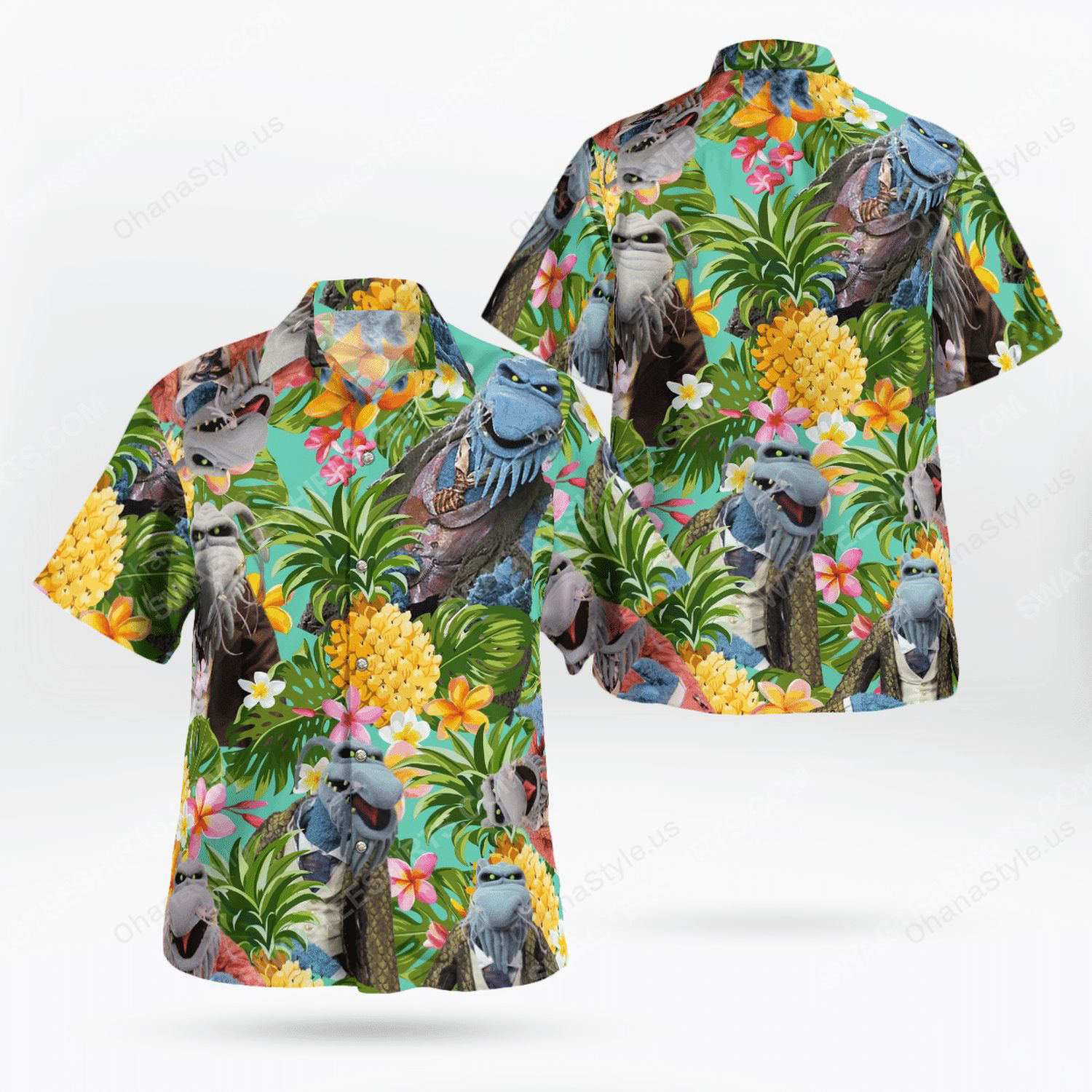 The muppet show uncle deadly hawaiian shirt